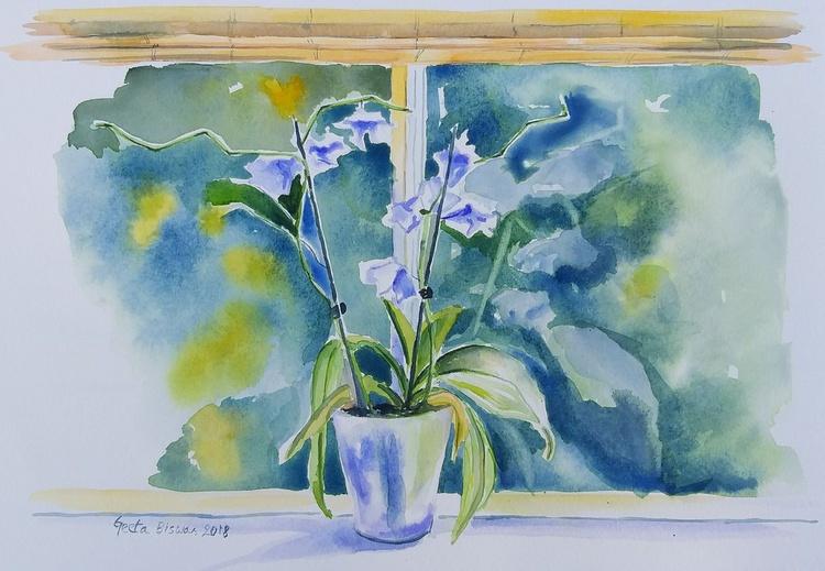 Orchids Watercolor Gift Ideas By Geeta Biswas Artfinder