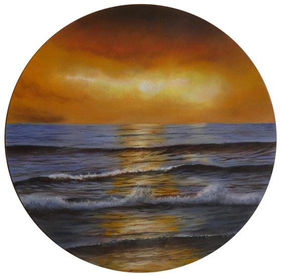 Speranza per un nuovo giorno - Italian sunset seascape