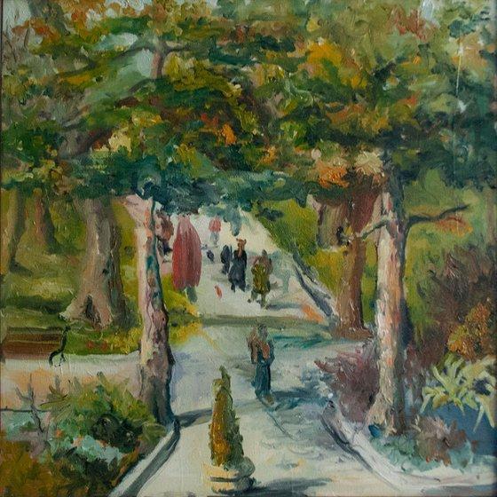 Kalemegdan Walkway