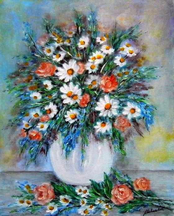 Bouquet of meadow flowers 7