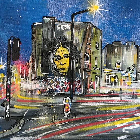 City Road - Mini Painting
