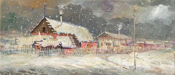Winter 1988 (68x30 cm)