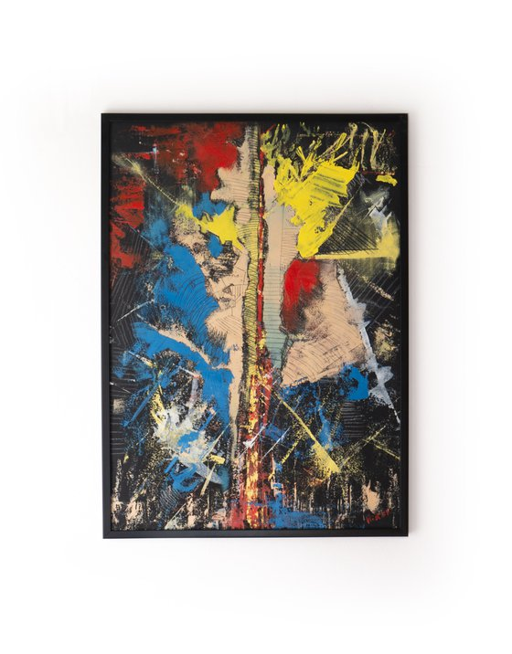 Power - Acrylic Painting [Framed] 50x70cm