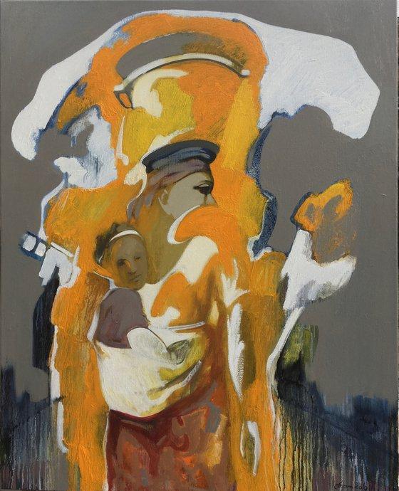 Africa(100x80cm, oil painting)