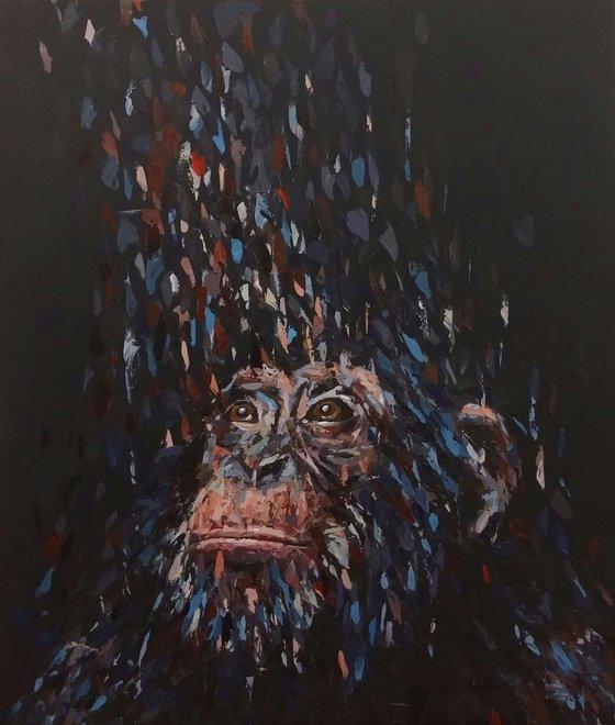 """""""Hope"""" 60x70cm, (23.6''x27.6""""), acrylic on canvas"""