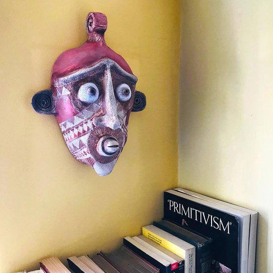 Primitive Style Ceramic Mask Two