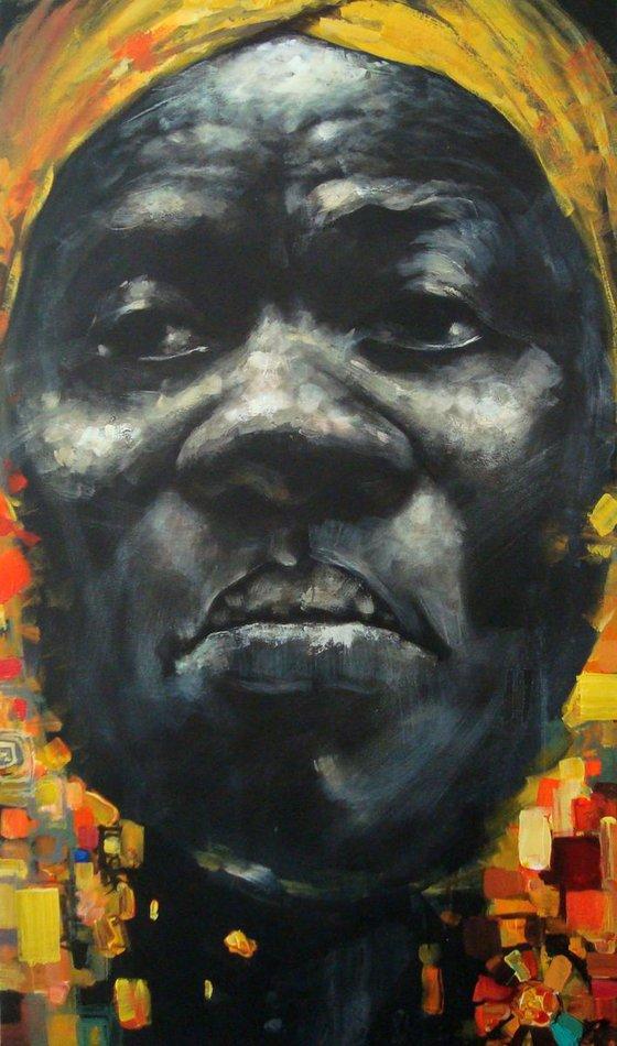 The Musician (63x108 cm)