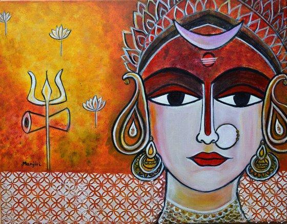 Love parvati Goddess Parvati
