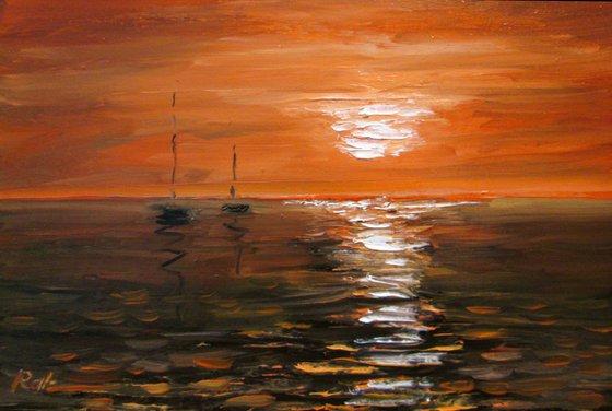 Horizon. Sea
