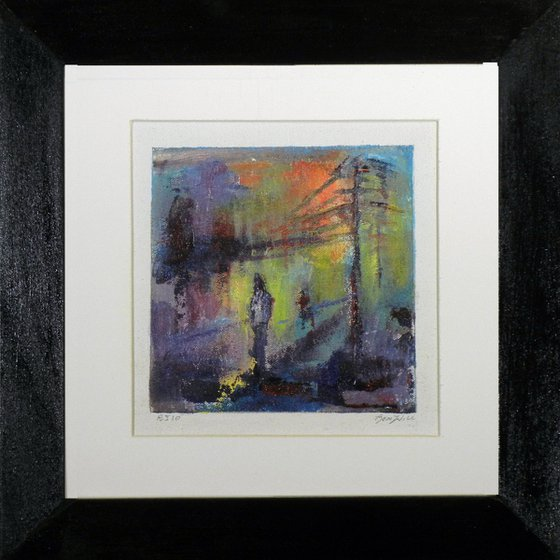 Framed Painting Abstract Fine Art BJ10 by BenWill