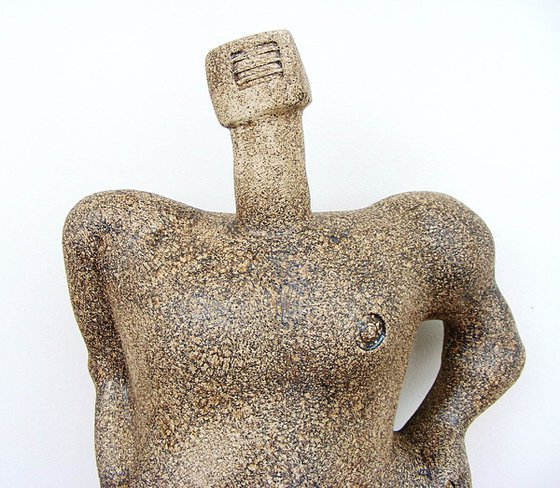 Mythological Giant, Benandonner - Legendary Scottish Giant - Ceramic Sculpture
