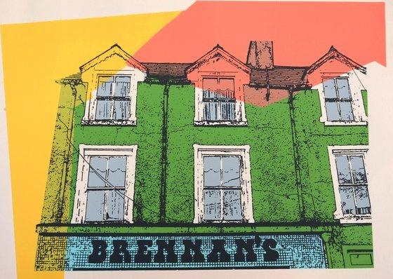 Irish shop fronts - Brennan's