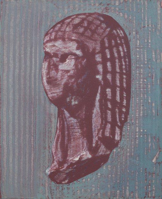 """Série """"extrait"""" - 12F- Vénus de Brassempouy - Grise."""