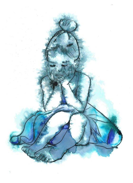 Sulky Blue Ballerina