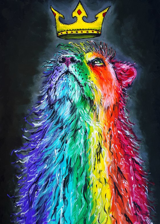 """Rainbow king"""