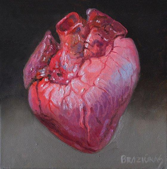 Heart, miniature 20x20cm