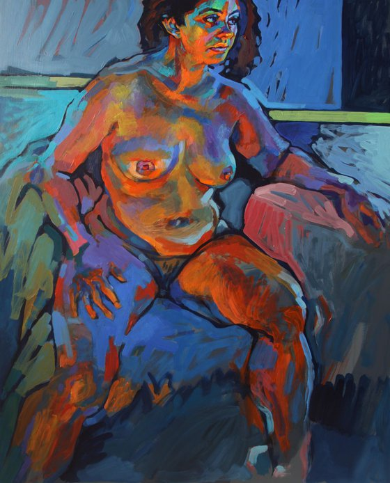 nude in natural and artificial light