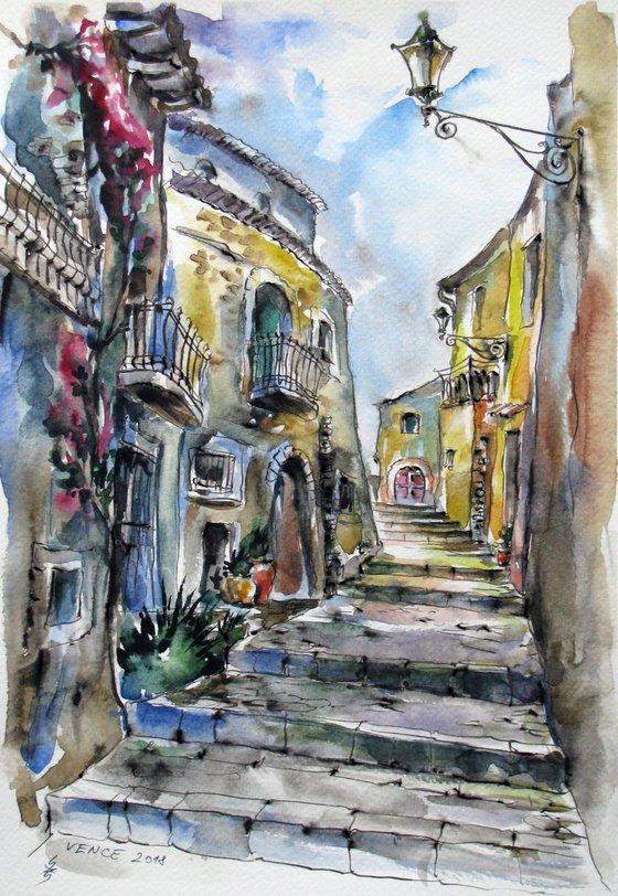 Walk around old town Vence