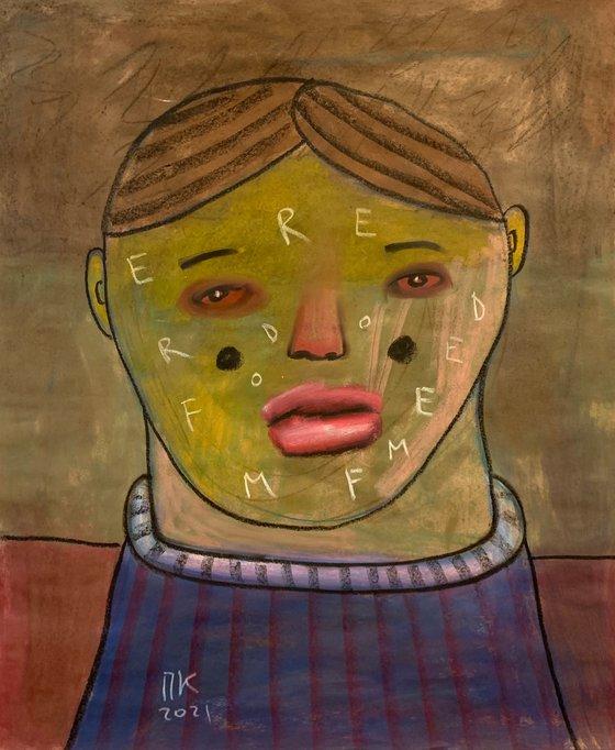 Serious portrait #93
