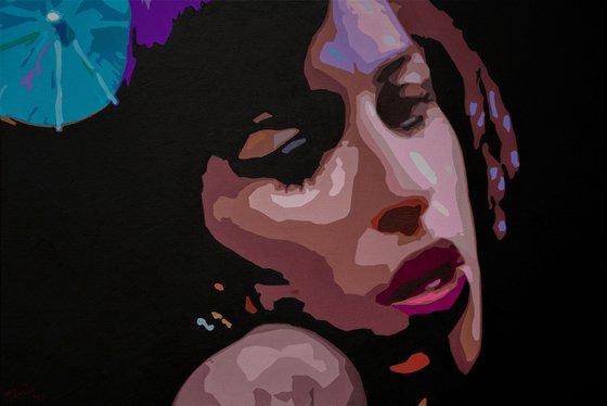 Portrait of Amy Winehouse - Back To Black