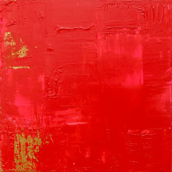 Red/Pink Abstract #182