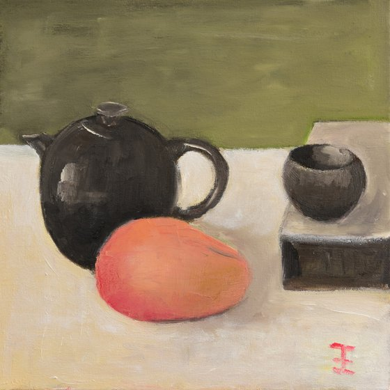 Mango and oriental tea