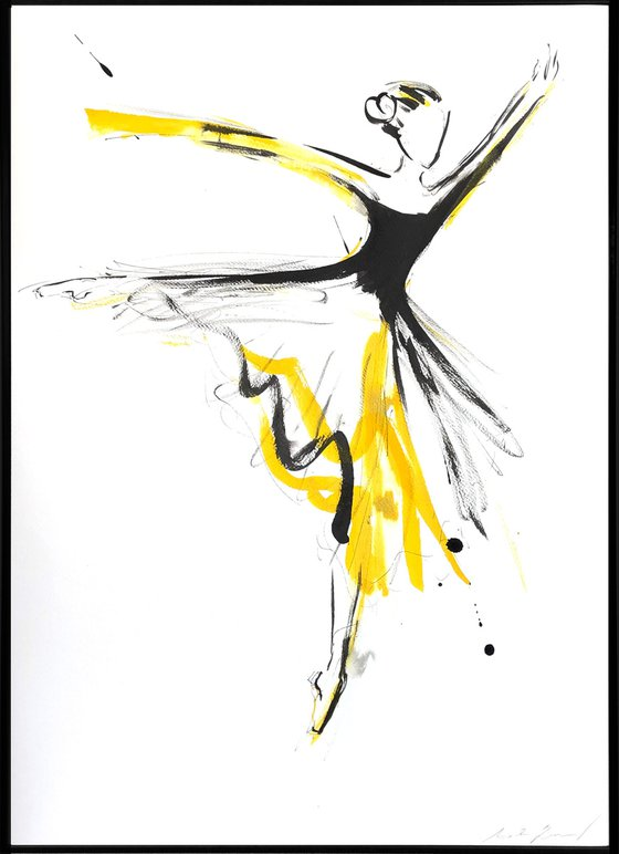 Golden dancer I