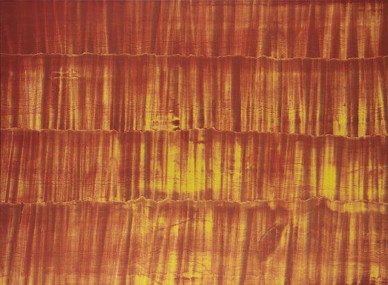"""Série """"cqfd"""" : CQFD60F02 - Deuxième époque - Orange."""