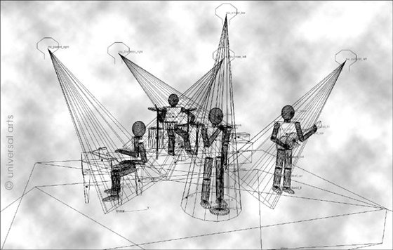 The Band - Wireframe
