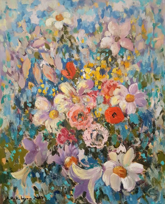 Wild flowers  - ONE OF KIND