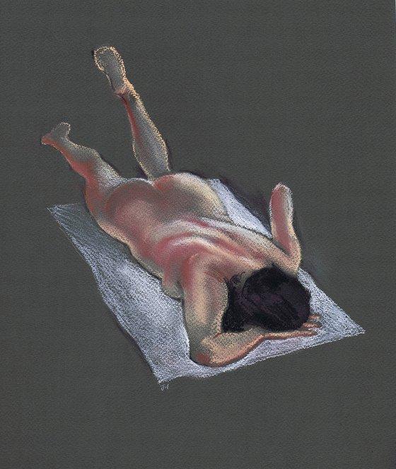 Reclining Nude, prone