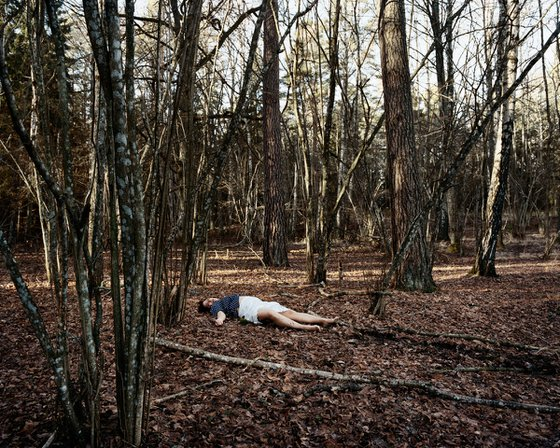Mom In Forest (From series Dead Parents)