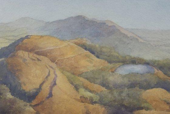 Buzzards View.The Malvern Hills