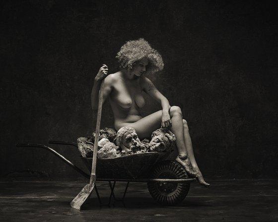 Salome paraphrase - Art nude