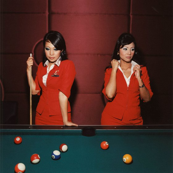 Untitled (Lily and Azriza, Air Asia), 2006