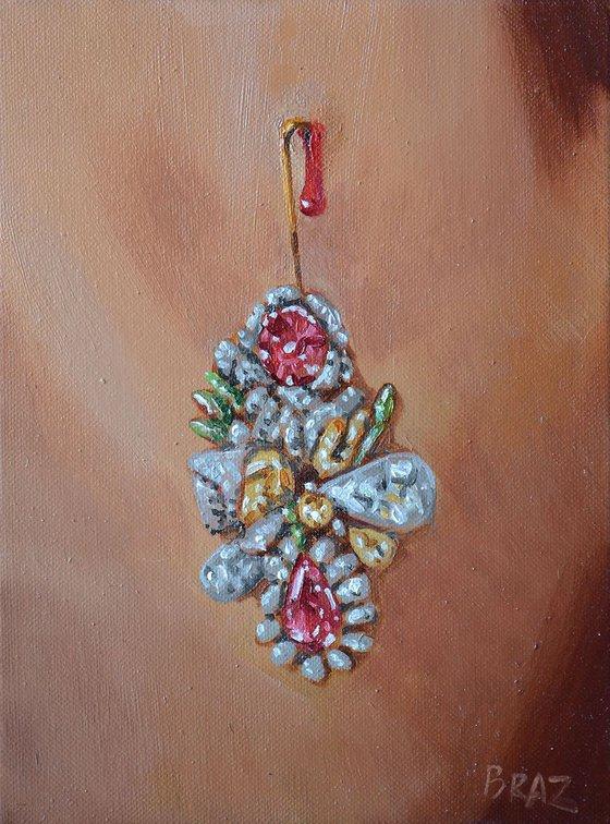 jewelry , miniature 24x18cm