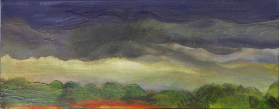 Painting   Acrylic   Before storm