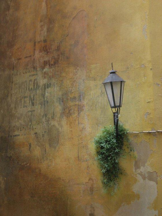 Street Lamp, french urban town street scene