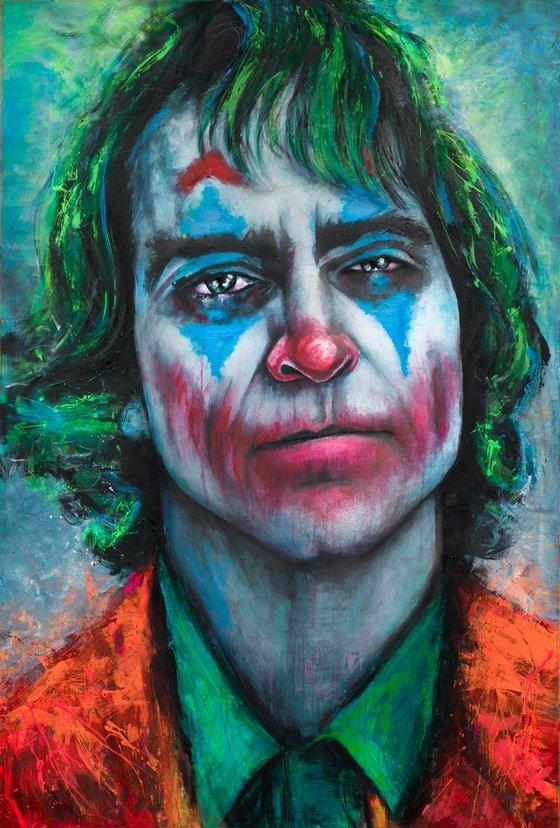 Joker Portrait 2019 UV Large canvas