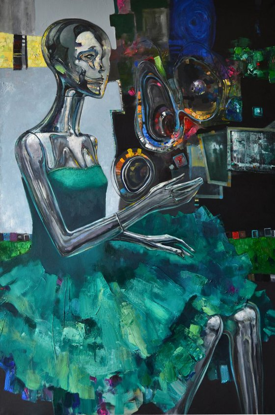 She Dreams (100x149 cm)