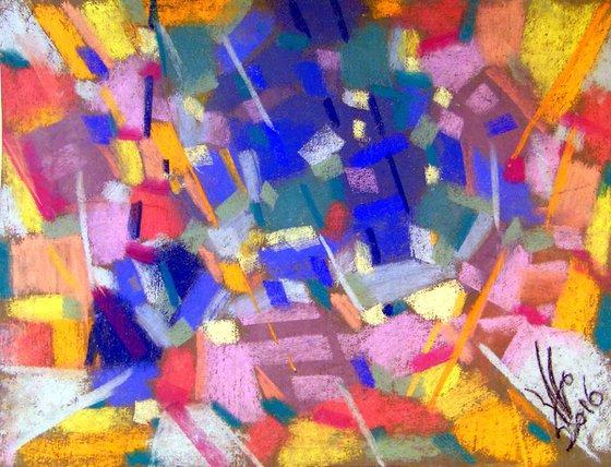 Improvisation in color No. 25