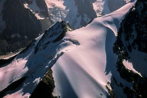 Aiguille and Glacier des Grands Montets