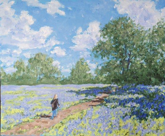 Bluebell walk #1