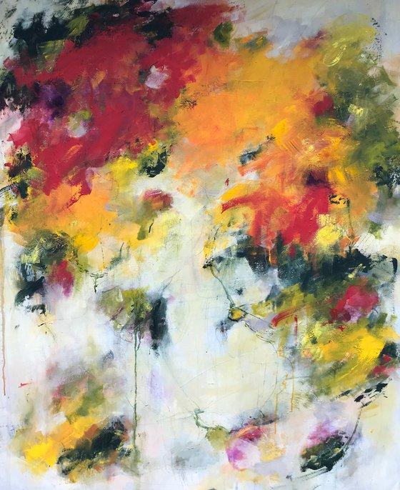 Mischievous Joy II  - Extra large contemporary painting