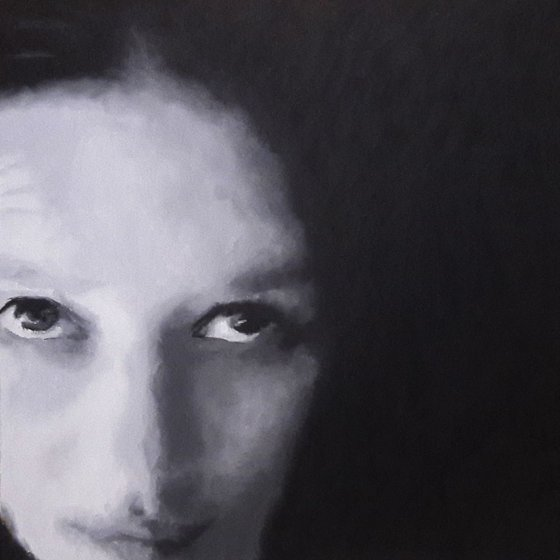#0118-1 self portrait