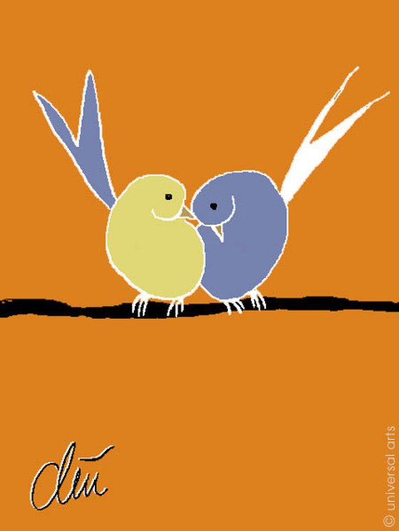 Vogelpaar (Pair of Birds)