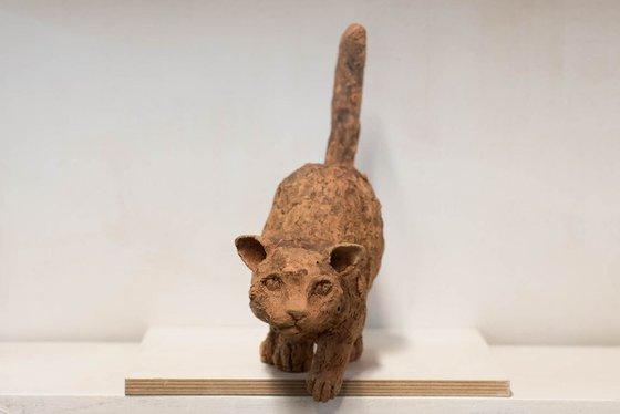 Ceramic | Sculpture | Cat Shadow