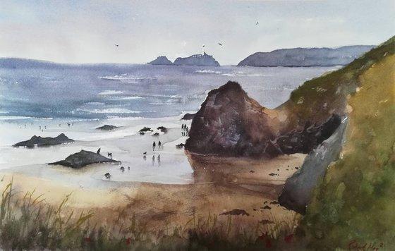Gwithian Beach, Cornwall, UK