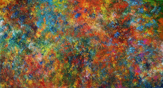 Abstract,red,yellow,orange,green, christmas sale was 546 USD now 495 USD.