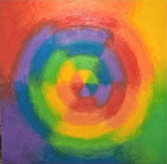 rainbow abstract VIII
